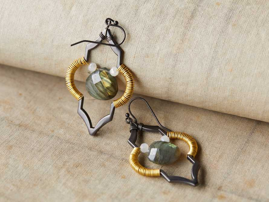 Kerryn Labradorite Earrings, slide 1 of 3