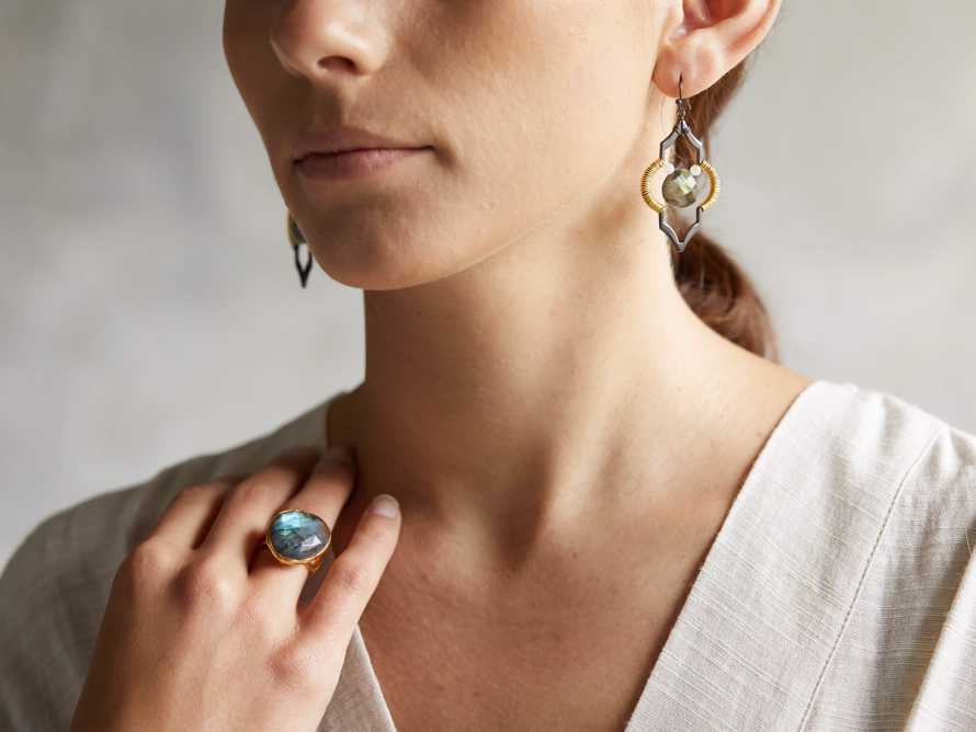 Kerryn Labradorite Earrings, slide 3 of 3