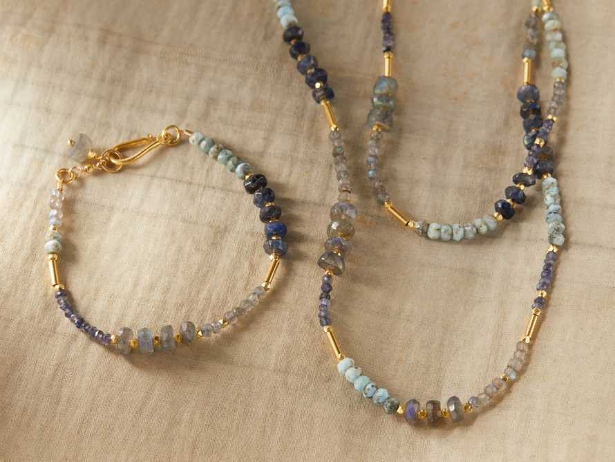 Marisol Labradorite Necklace, slide 3 of 3