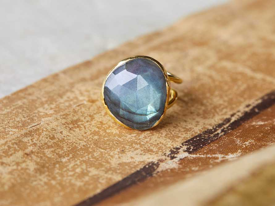 After Midnight Labradorite Ring Size 6