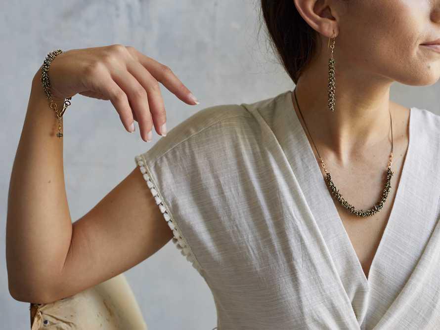 Nayala Cluster Earrings, slide 3 of 4