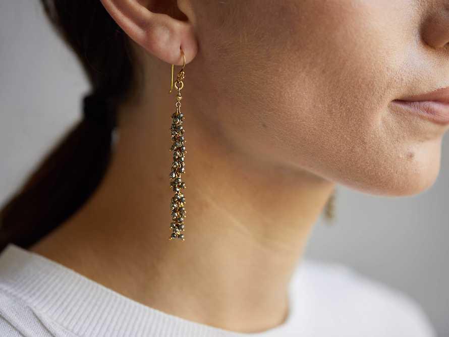 Nayala Cluster Earrings, slide 2 of 4