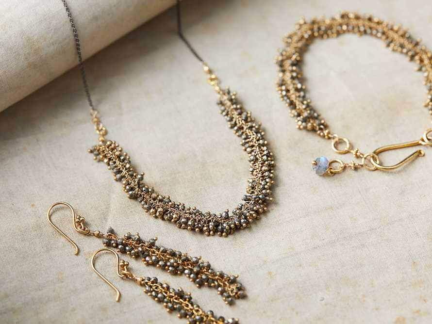 Nayala Cluster Earrings, slide 4 of 4