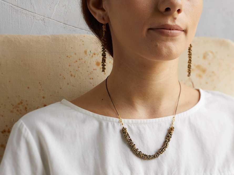 Nayala Cluster Necklace, slide 3 of 5