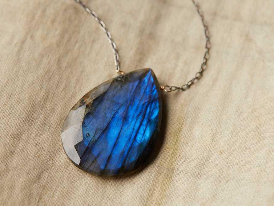 Theia Labradorite Necklace, slide 2 of 2