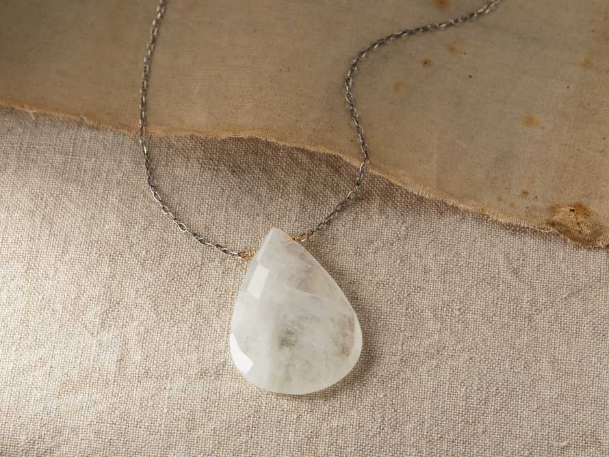 Theia Moonstone Necklace, slide 1 of 3