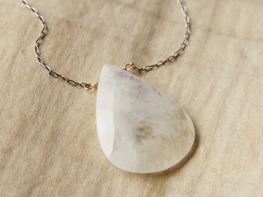 Theia Moonstone Necklace, slide 2 of 3