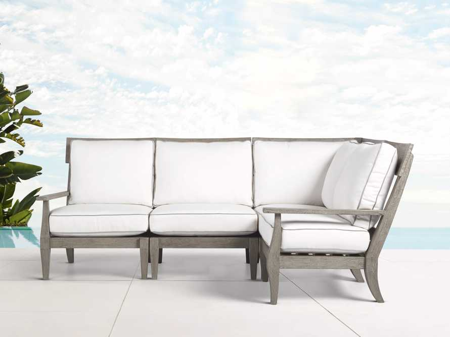 Adones Outdoor Four Piece Sectional, slide 1 of 5