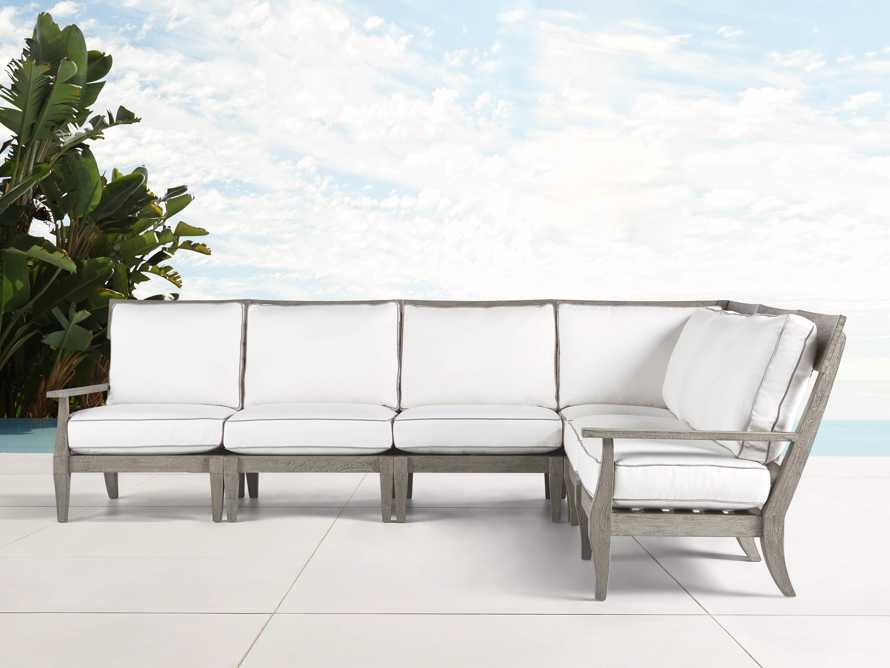 Adones Outdoor Six Piece Sectional, slide 2 of 5