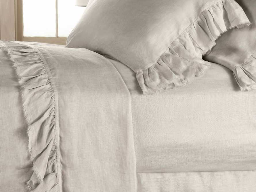 Ava Queen Fitted Sheet In Fawn