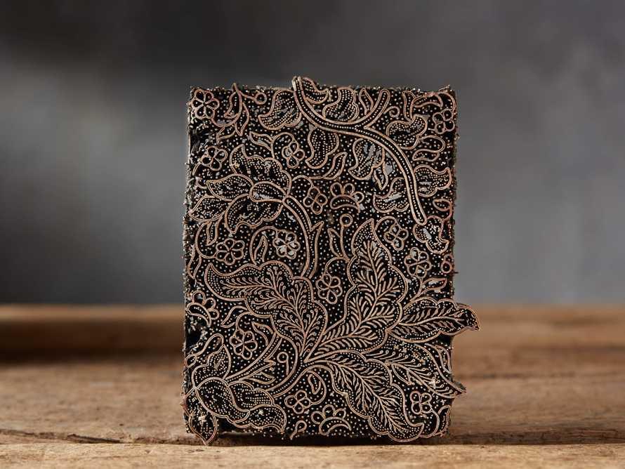 Metal Batik Stamp with Aged Finish, slide 4 of 10