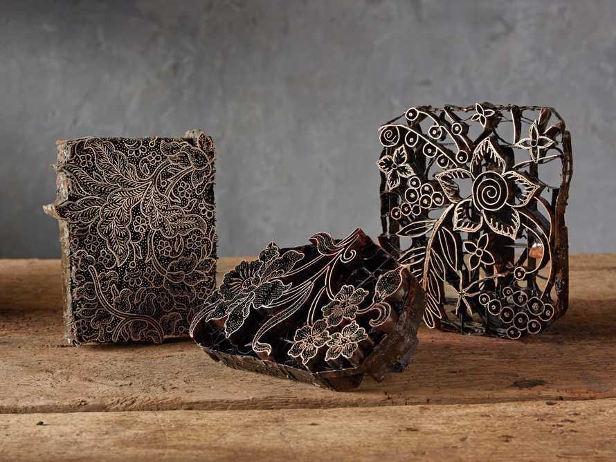 Metal Batik Stamp with Aged Finish, slide 10 of 10