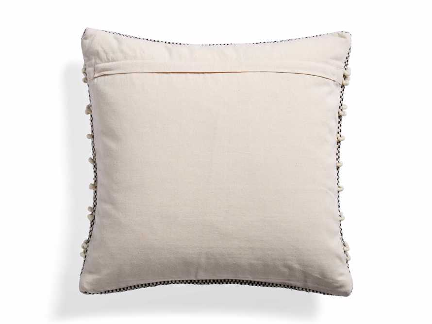 BOHO SQUARE PILLOW COVER IN IVORY, slide 2 of 4