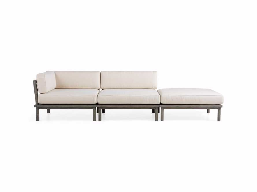 Costa Outdoor 3 Piece Sectional, slide 2 of 7