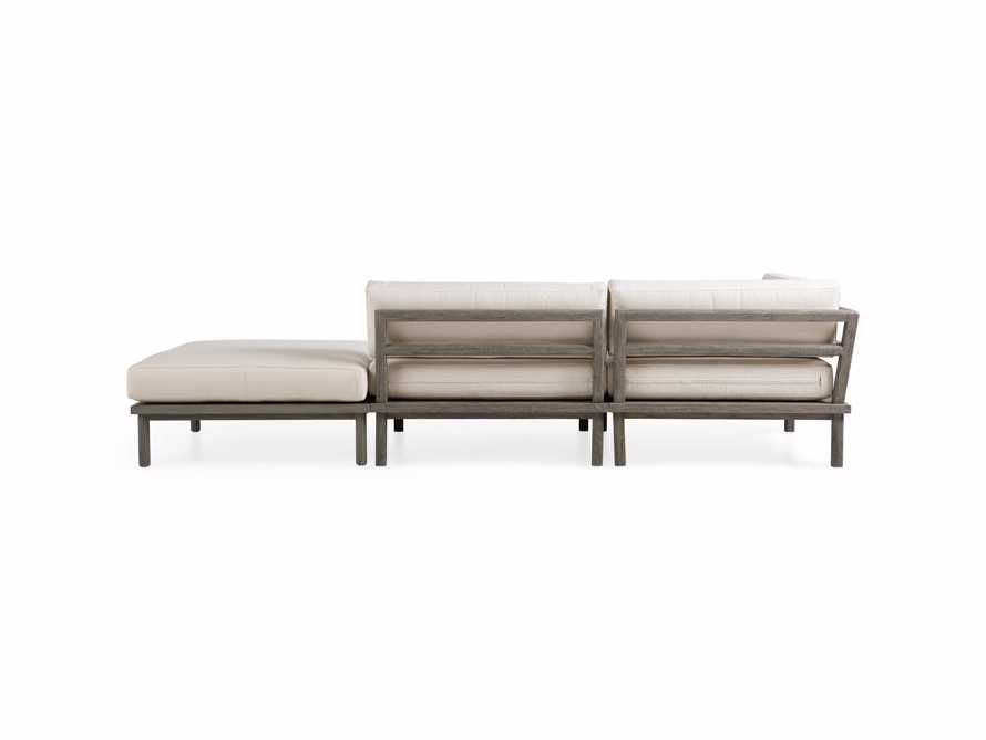 Costa Outdoor 3 Piece Sectional, slide 5 of 7