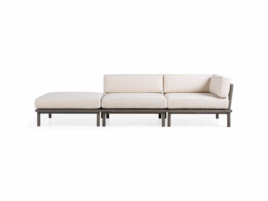 Costa Outdoor 3 Piece Sectional, slide 3 of 7