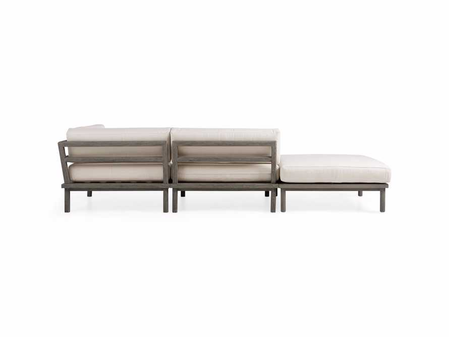 Costa Outdoor 3 Piece Sectional, slide 6 of 7