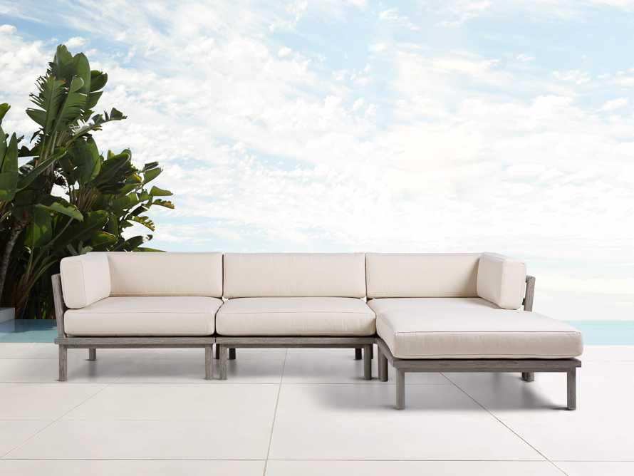 Costa Outdoor Four Piece Sectional