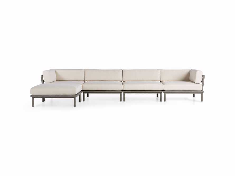 Costa Outdoor Five Piece Sectional