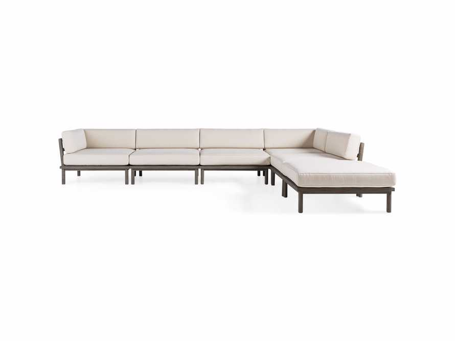 Costa Outdoor Six Piece L Sectional, slide 2 of 5