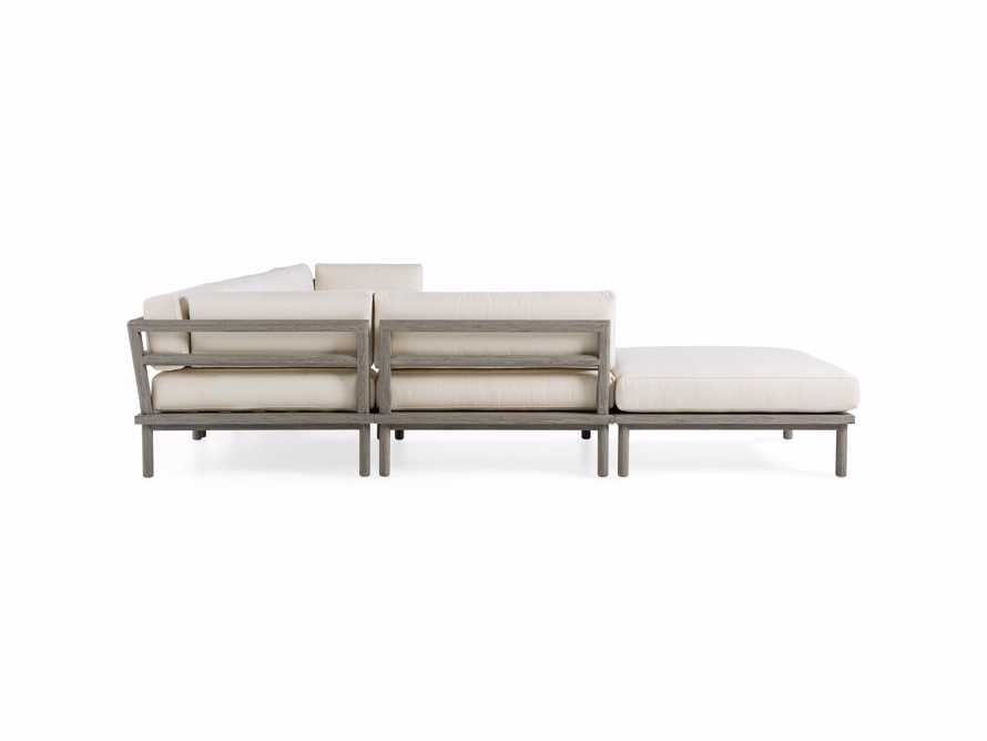 Costa Outdoor Six Piece L Sectional