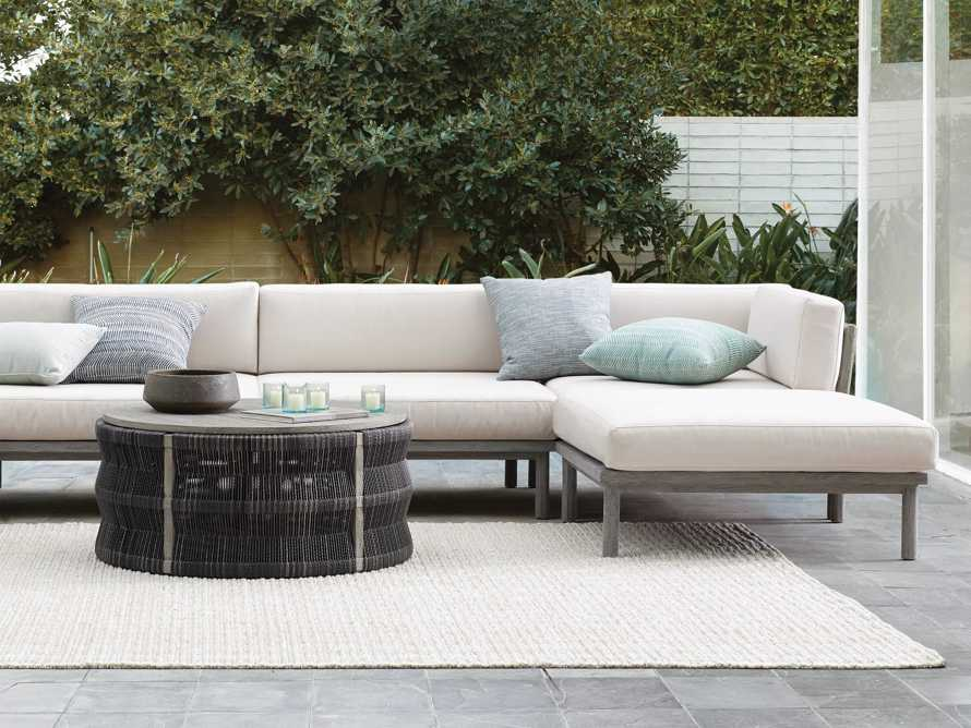 Costa Outdoor Six Piece U Sectional, slide 4 of 4