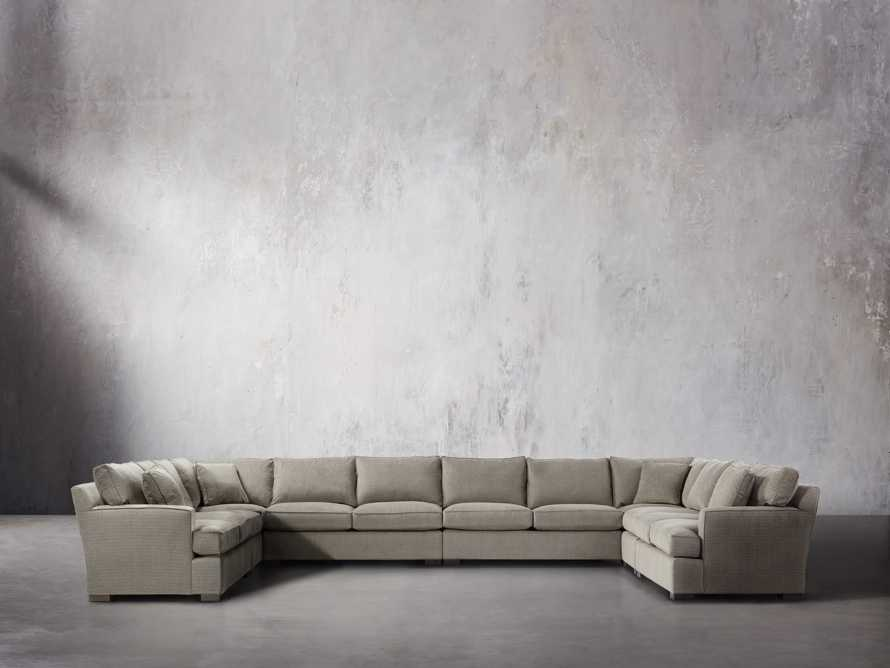 Dune Upholstered Eight Piece Sectional