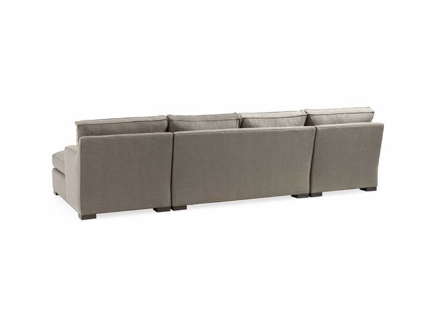 "Dune 135"" Upholstered Double Chaise Sectional"