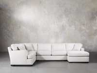 "Dune 139"" Upholstered Right Arm Sectional"
