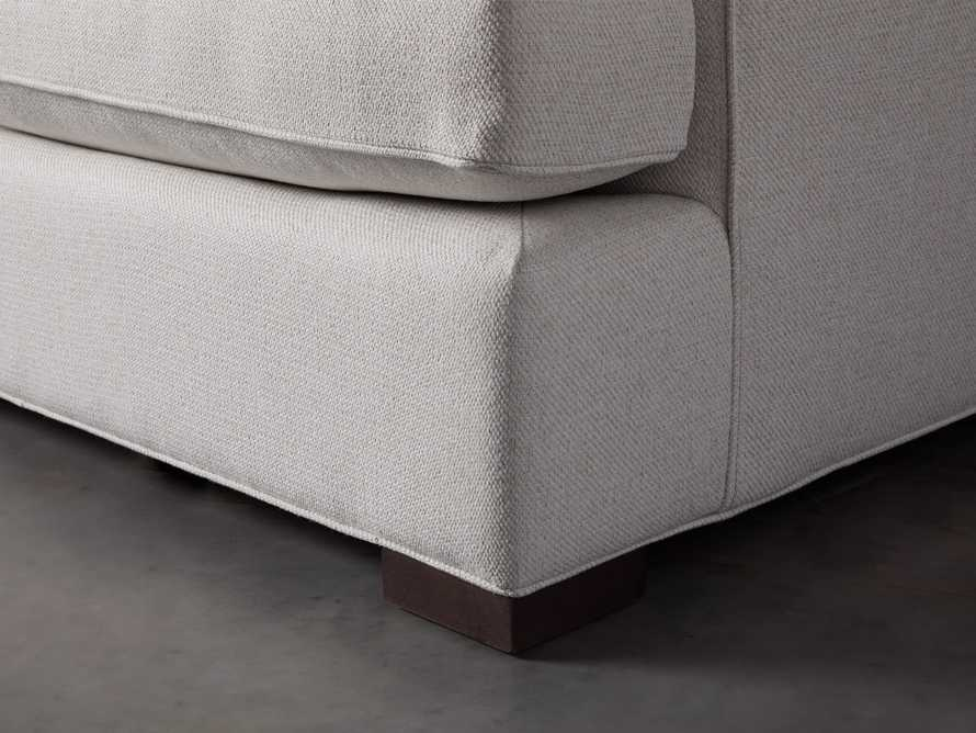 """Dune 95"""" Upholstered Left Arm Two Piece Sectional in Tune Cream, slide 7 of 11"""