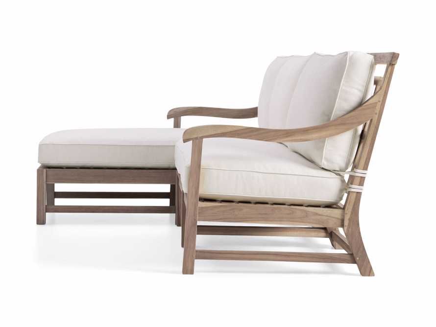 Hamptons Outdoor Three Piece Left Arm Sectional, slide 3 of 4