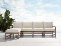 Hamptons Outdoor Four Piece Left Arm Sectional