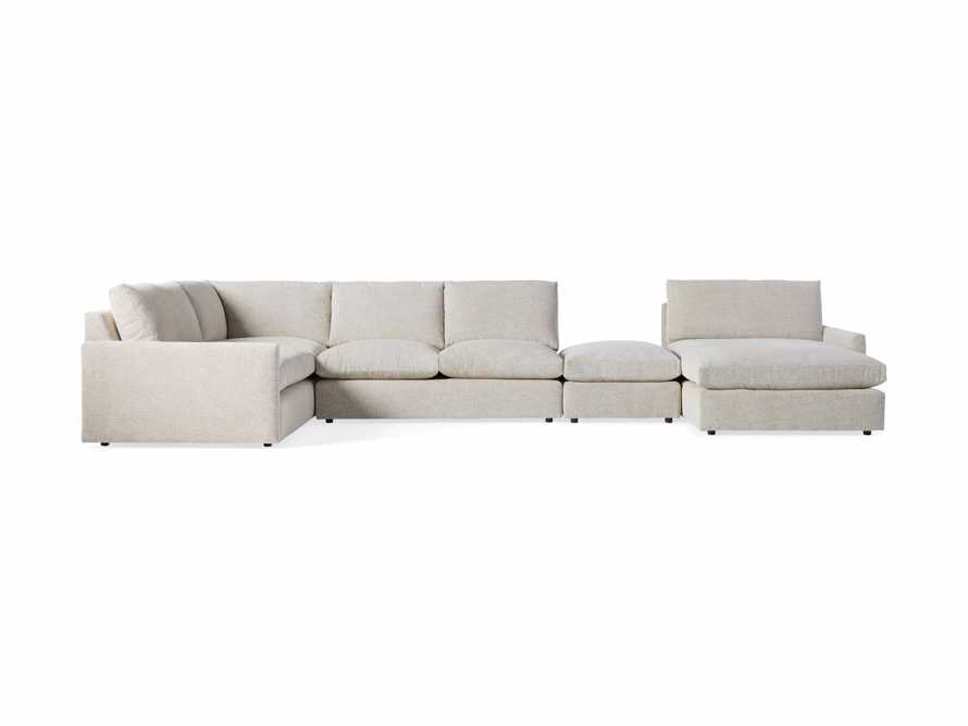 Kipton Upholstered Left Arm Chaise Sectional, slide 6 of 7