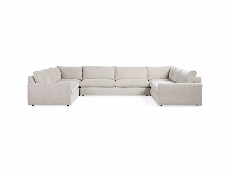"Kipton Upholstered 172"" Five Piece Sectional, slide 4 of 7"