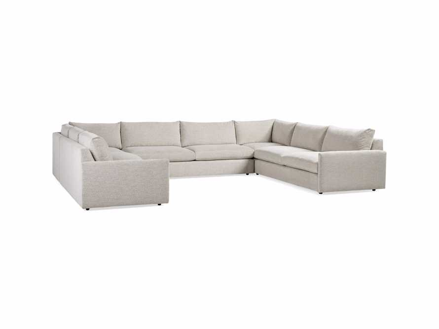"Kipton Upholstered 172"" Five Piece Sectional, slide 5 of 7"