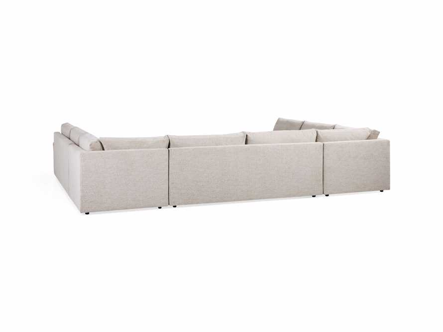 "Kipton Upholstered 172"" Five Piece Sectional, slide 7 of 7"