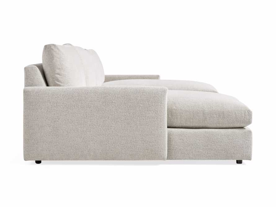"""Kipton 184"""" Upholstered Double Chaise Sectional, slide 8 of 8"""