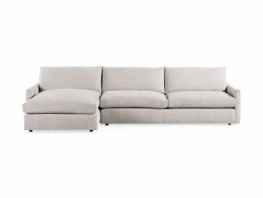 "Kipton Upholstered 139"" Two Piece Left Arm Sectional with Chaise, slide 6 of 7"