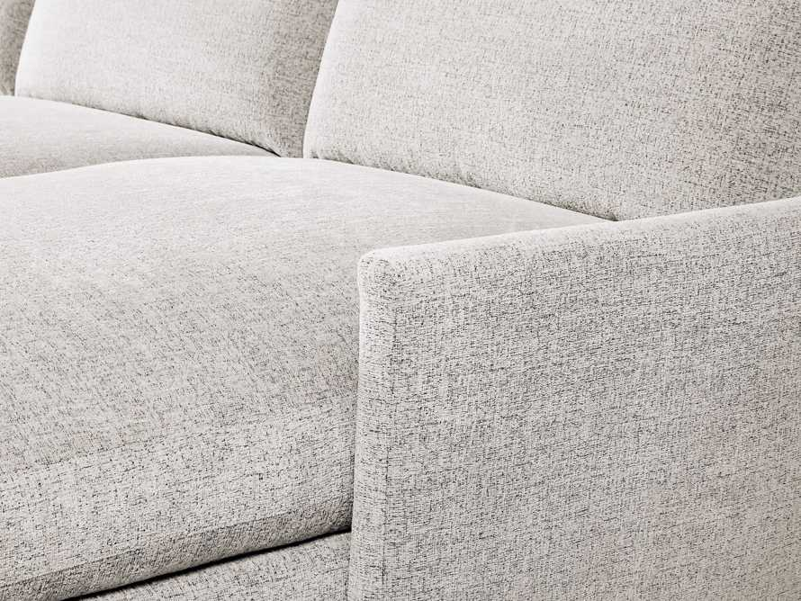 """Kipton Upholstered 139"""" Two Piece Right Arm Sectional with Chaise"""