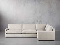 "Kipton Upholstered 135"" Two Piece Sectional"