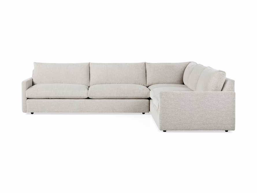"Kipton 135"" Upholstered Corner Sectional, slide 5 of 5"