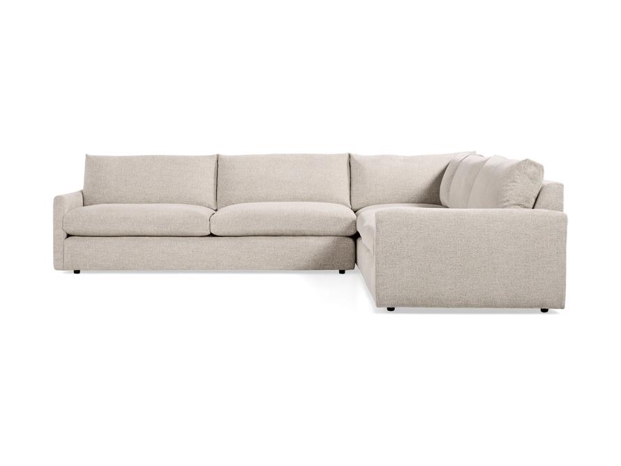 """Kipton 135"""" Upholstered Corner Sectional, slide 5 of 5"""