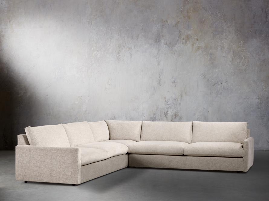 """Kipton 135"""" Upholstered Corner Sectional, slide 2 of 6"""