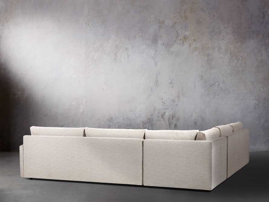 "Kipton 135"" Upholstered Corner Sectional, slide 3 of 5"