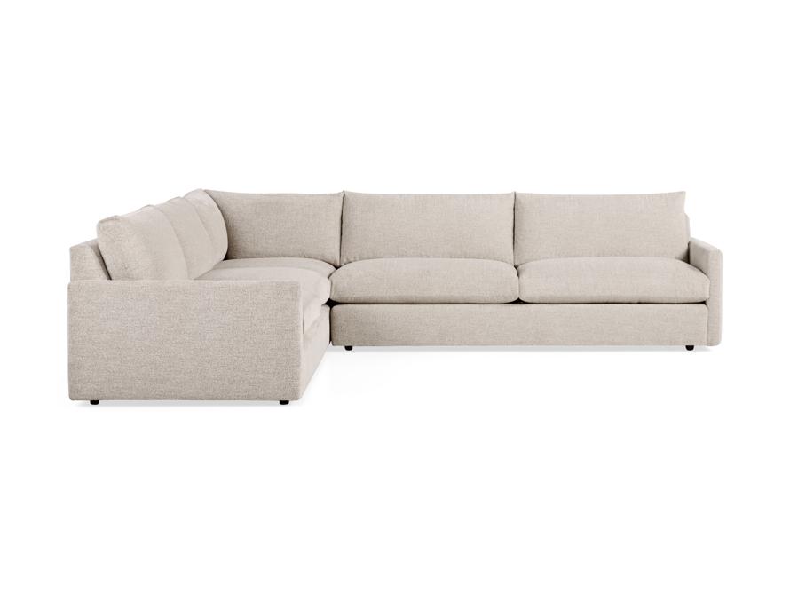 """Kipton 135"""" Upholstered Corner Sectional, slide 3 of 6"""
