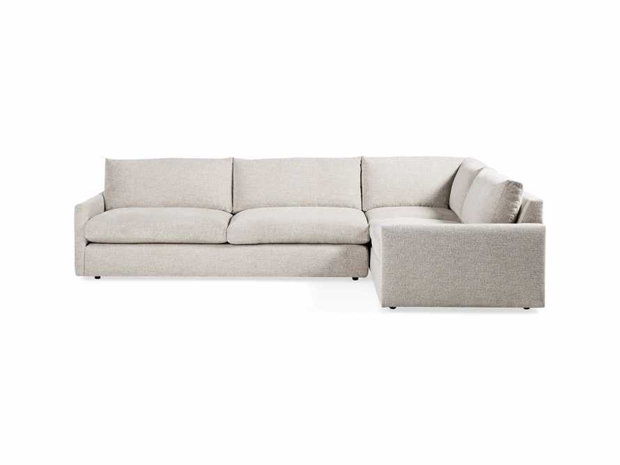 "Kipton Upholstered 135"" Two Piece Sectional, slide 3 of 12"