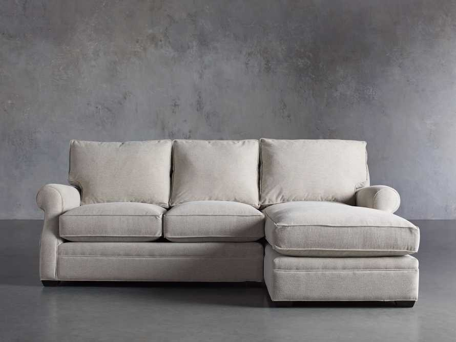 "Landsbury Upholstered 99"" Right Arm Two Piece Sectional, slide 2 of 10"