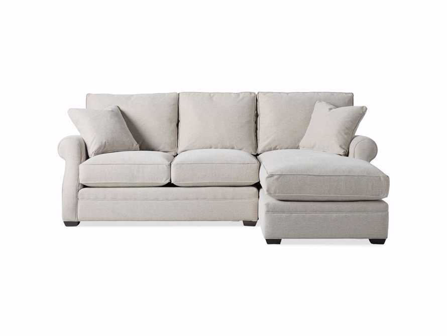 "Landsbury Upholstered 99"" Right Arm Two Piece Sectional, slide 8 of 10"