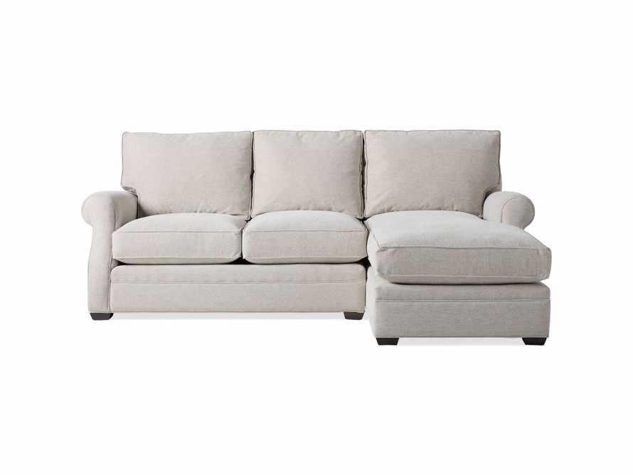 "Landsbury Upholstered 99"" Right Arm Two Piece Sectional, slide 9 of 10"