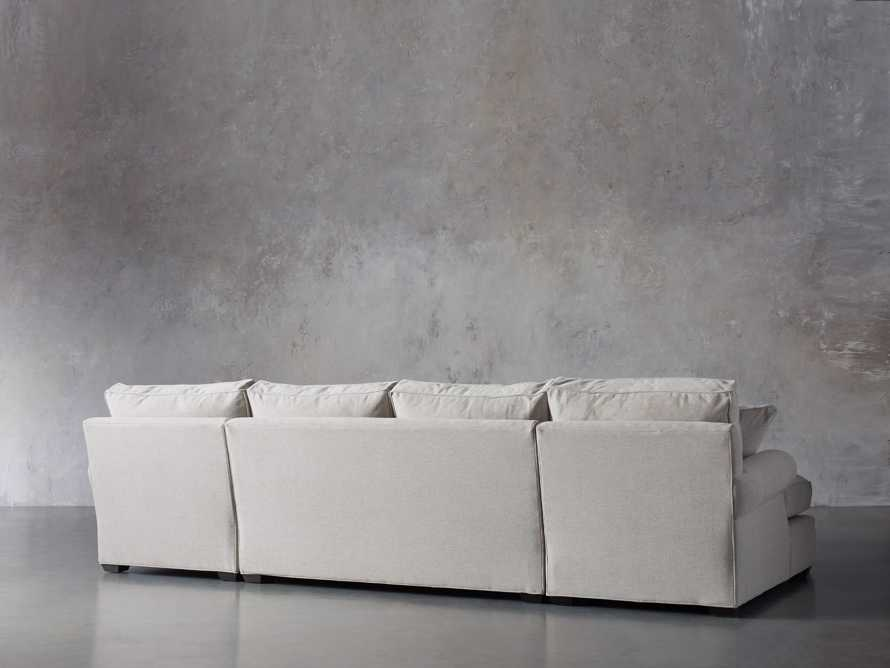 """Landsbury 137"""" Upholstered Double Chaise Sectional, slide 4 of 7"""